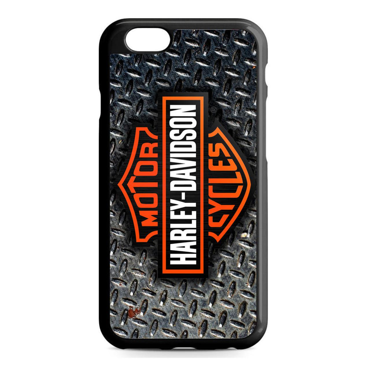 sports shoes d7c3a 54b52 Harley Davidson Logo Diamond Plate iPhone 6/6S Case
