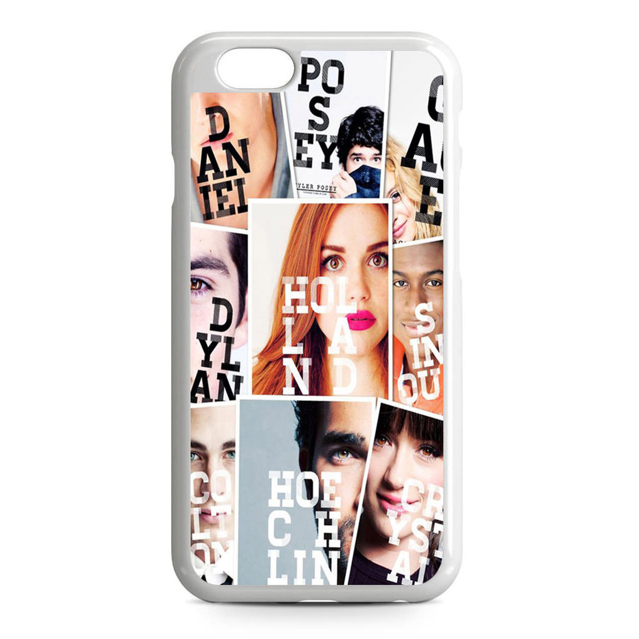 Teen Wolf Scratch iphone case
