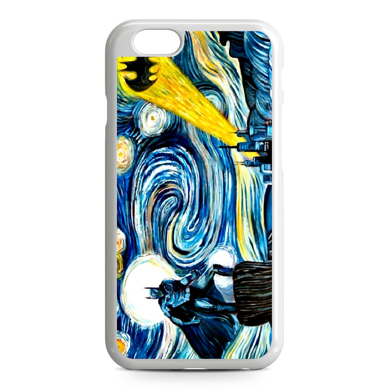 Batman Van Gogh Starry Night iPhone 6/6S Case