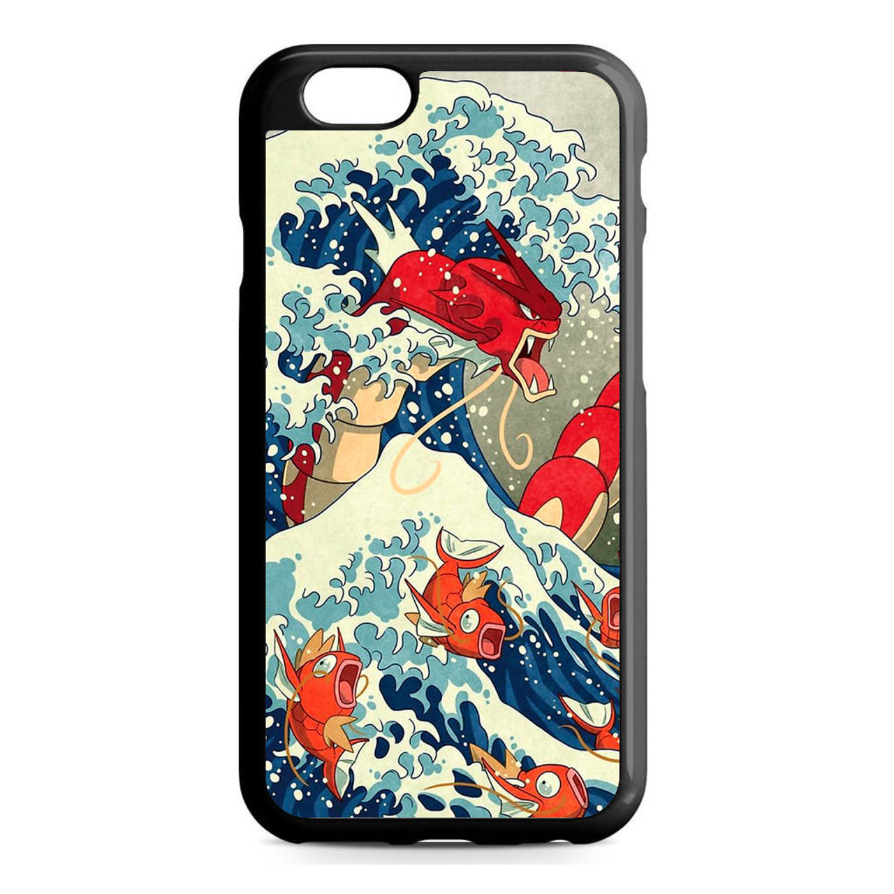 new concept ac24e 1c6c6 The Great Wave Of Kanto Pokemon iPhone 6/6S Case