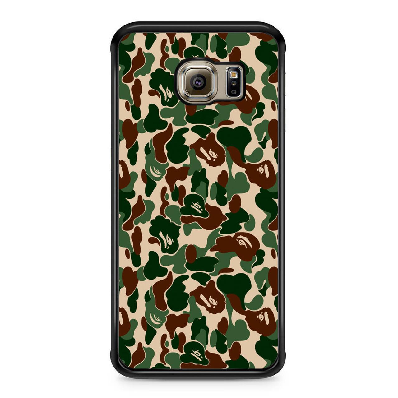 the latest e8fe1 93ac4 Bathing Ape Bape Camo Real Tree Samsung Galaxy S6 Edge Case