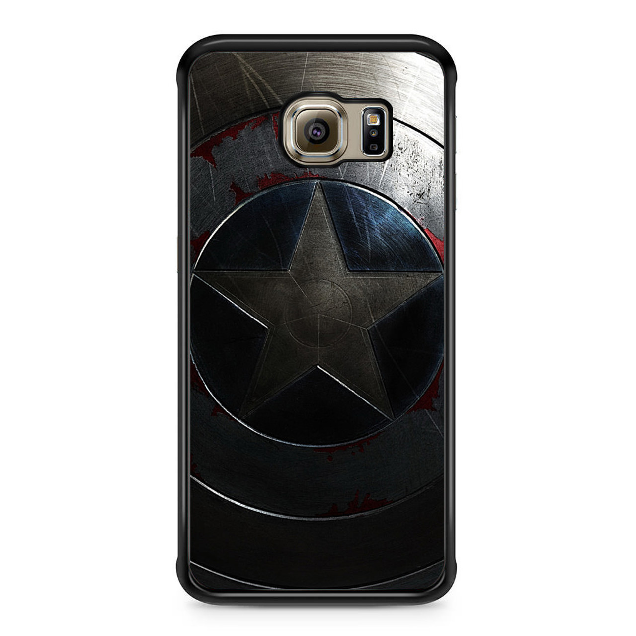 online retailer 1b033 09275 Captain America The Winter Soldier Samsung Galaxy S6 Edge Case