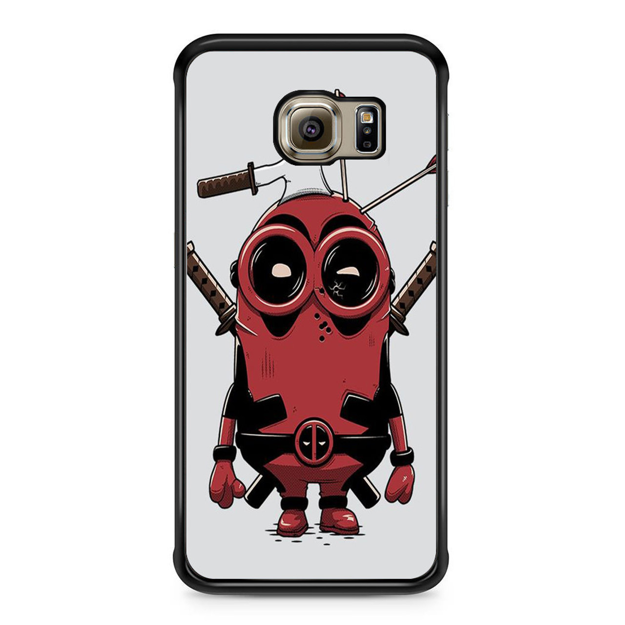 huge discount 6293f db500 Deadpool Minions Samsung Galaxy S6 Edge Case