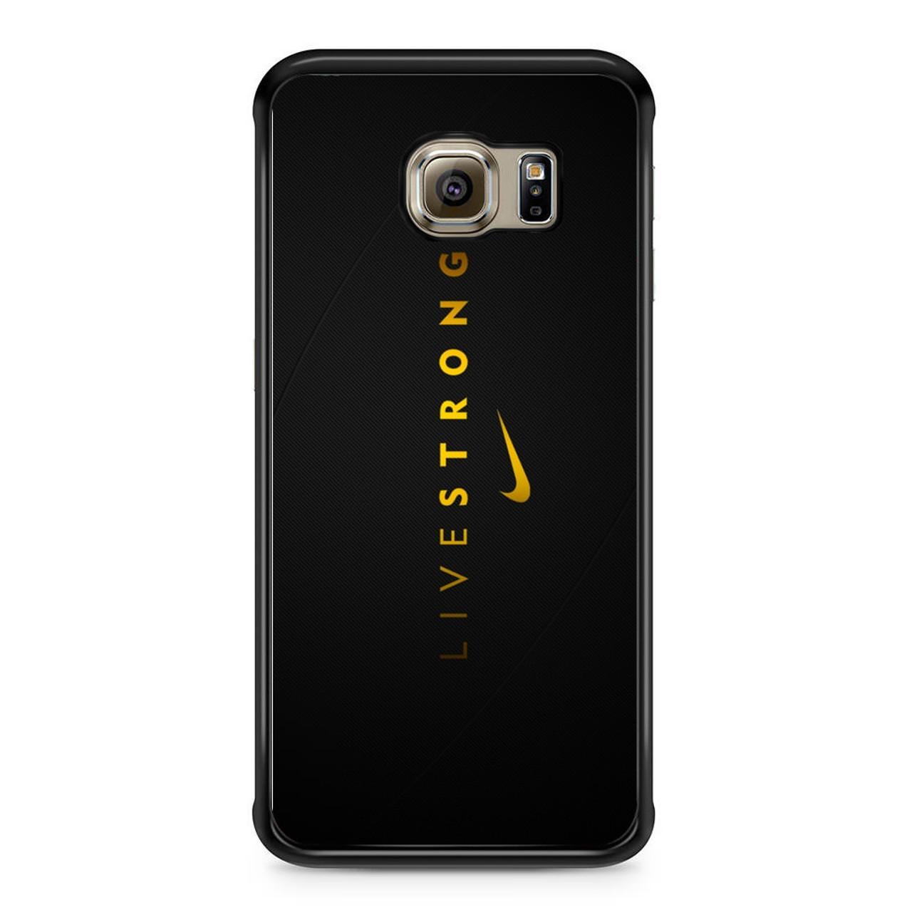pretty nice cc3ca e8bf3 Nike Livestrong Samsung Galaxy S6 Edge Case
