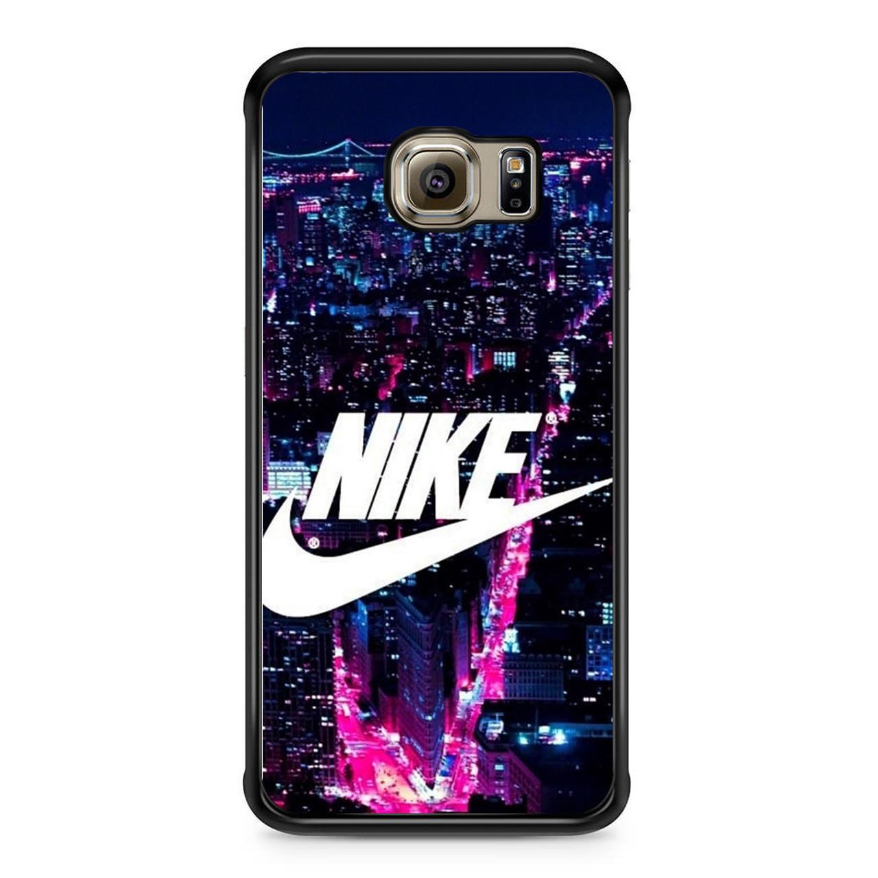 cheap for discount 67292 46a75 Nike Logo New York City Samsung Galaxy S6 Edge Case