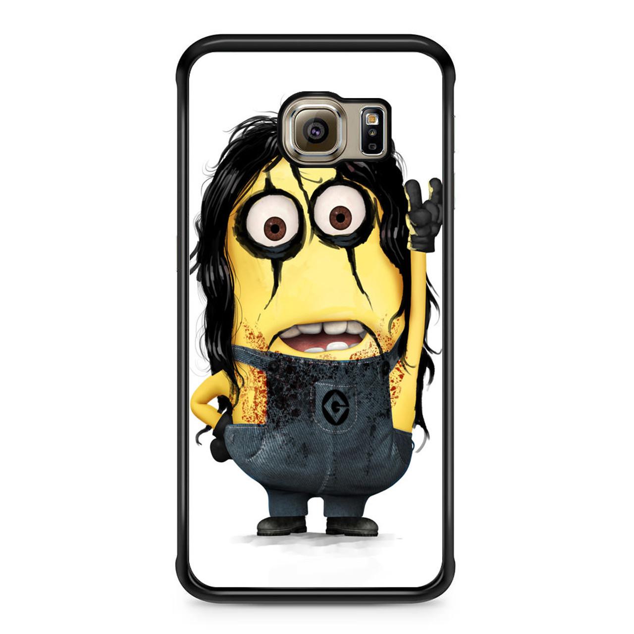 wholesale dealer 50527 8fbdc Alice Cooper Minion Samsung Galaxy S6 Edge Case