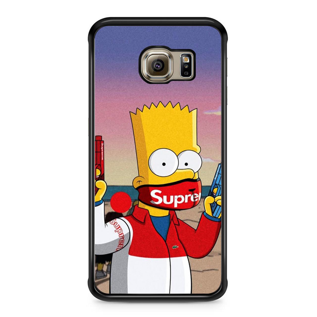new styles 812c4 36eab Bart Supreme Samsung Galaxy S6 Edge Case