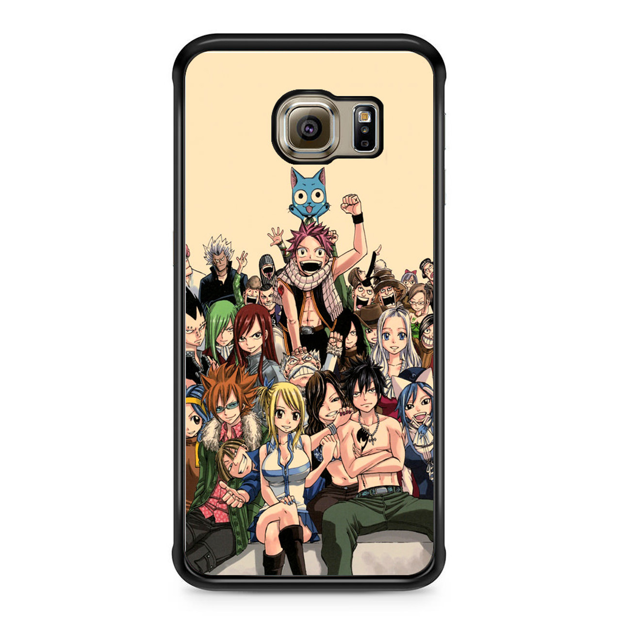 lowest price c714d fa50a Fairy Tail Characers Samsung Galaxy S6 Edge Case
