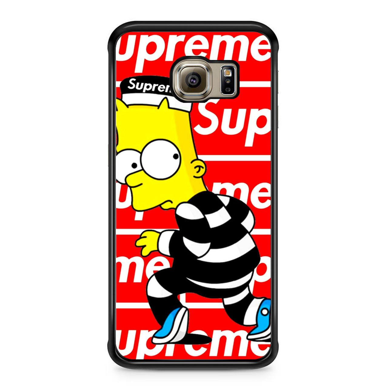 quality design b0d15 b22ce Supreme Bart Samsung Galaxy S6 Edge Case