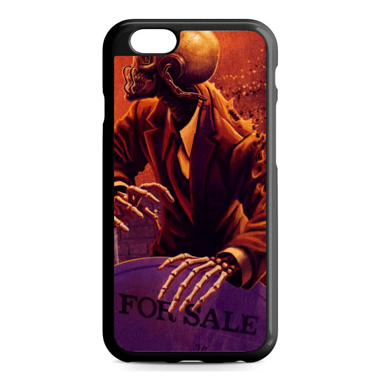 the latest 197bb cd614 Music Megadeth iPhone 6/6S Case