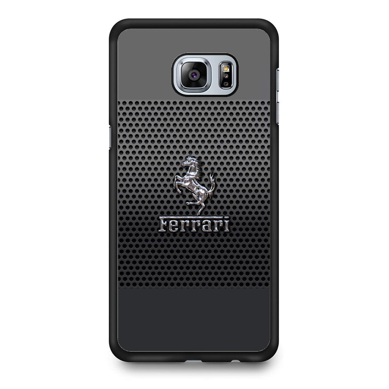 new style 4e4aa 30f9a Ferrari Chrome Logo Samsung Galaxy S6 Edge Plus Case