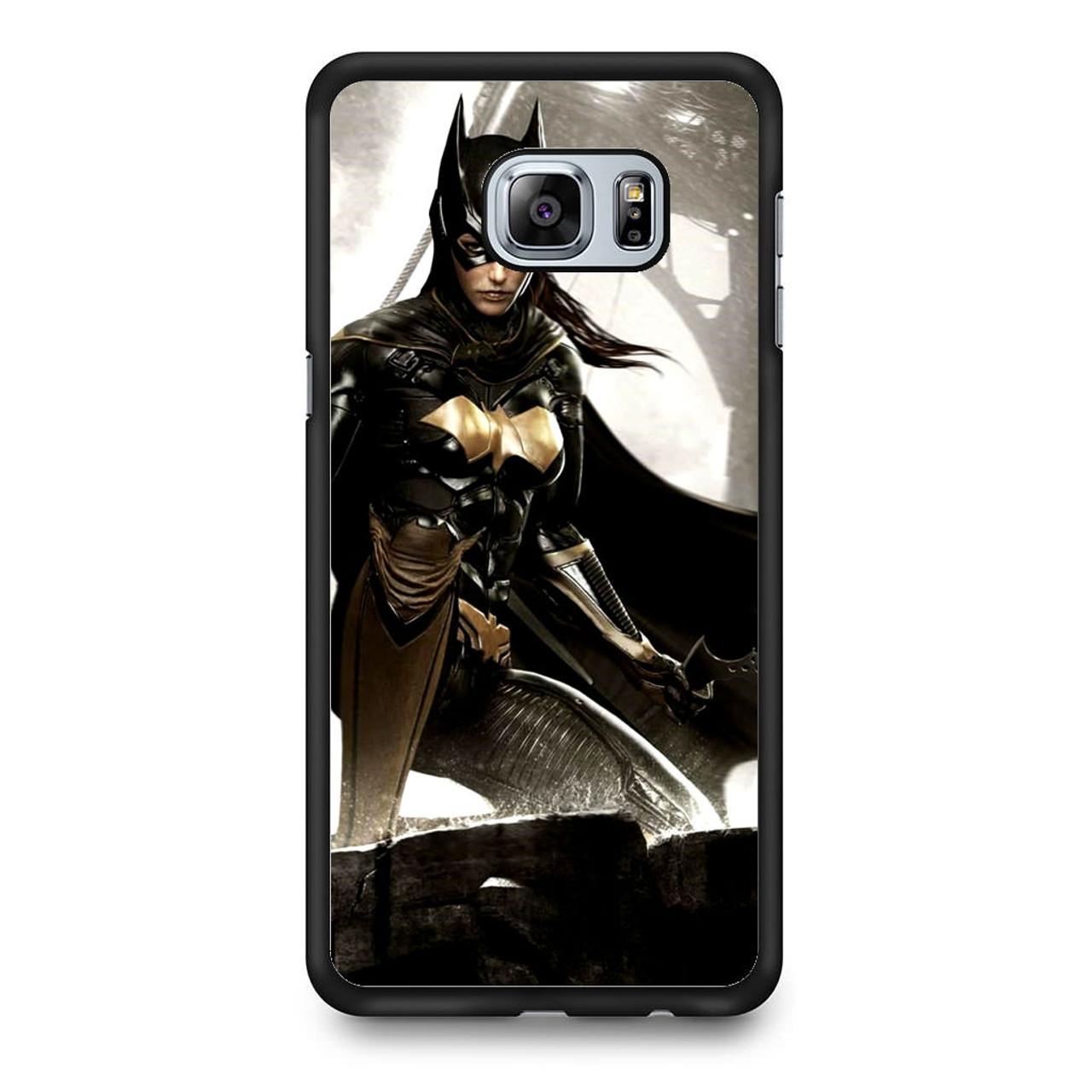 innovative design 9859c eae0a Batgirl Batman Arkham Knight Samsung Galaxy S6 Edge Plus Case
