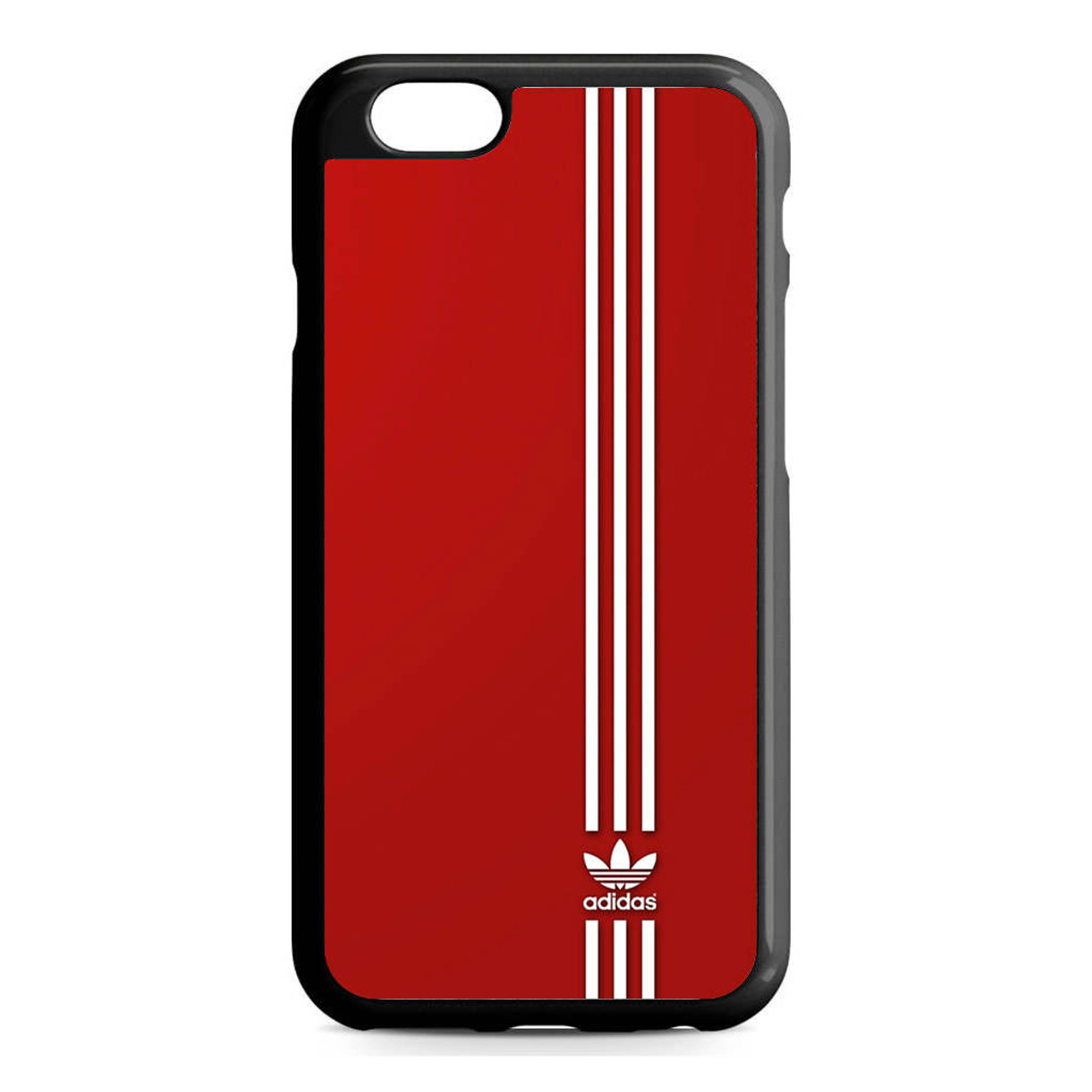 detailed look 3b1c9 e8a60 Brand Adidas Red White Sport iPhone 6/6S Case