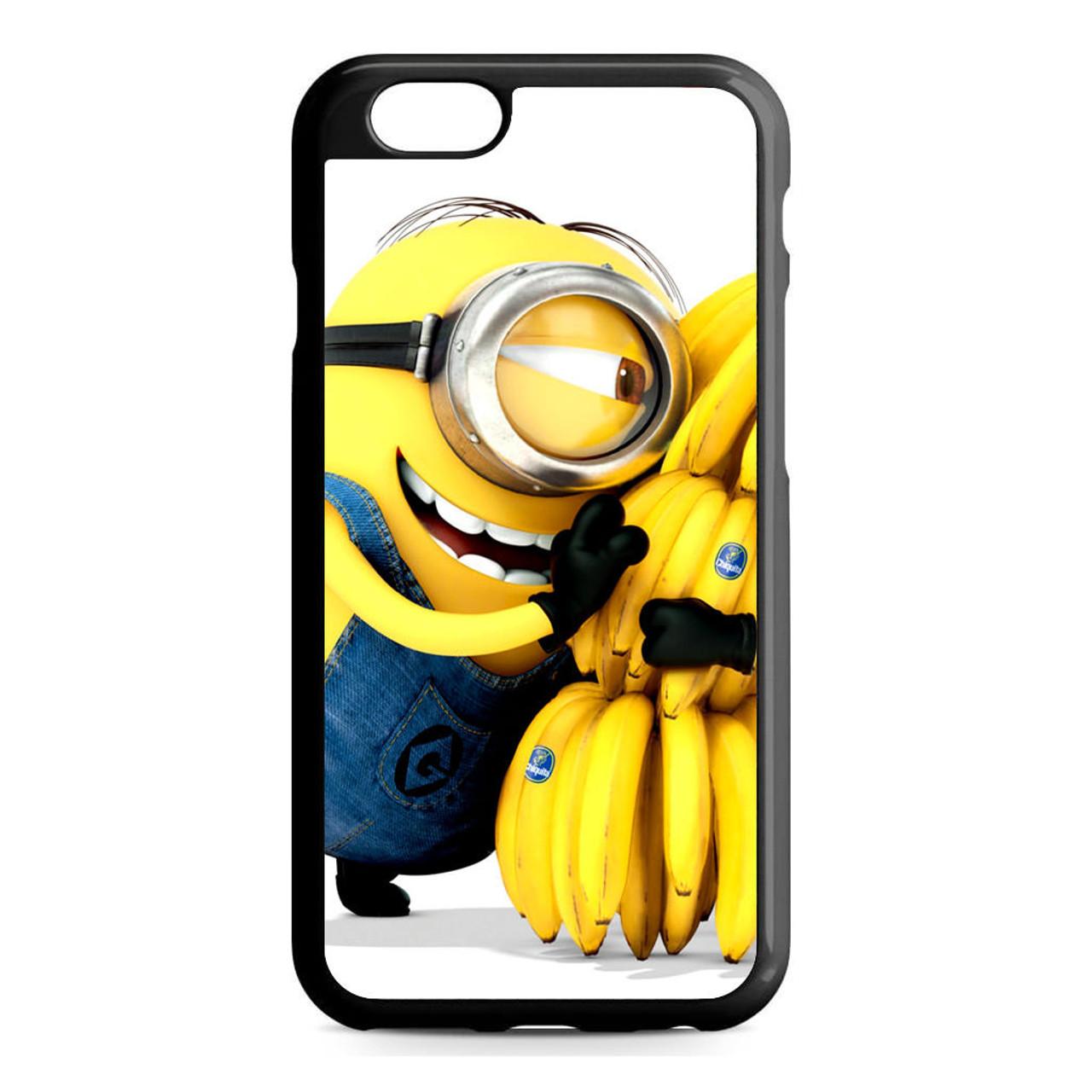 pretty nice cdfa1 5f30d Despicable Me Minions Banana iPhone 6/6S Case