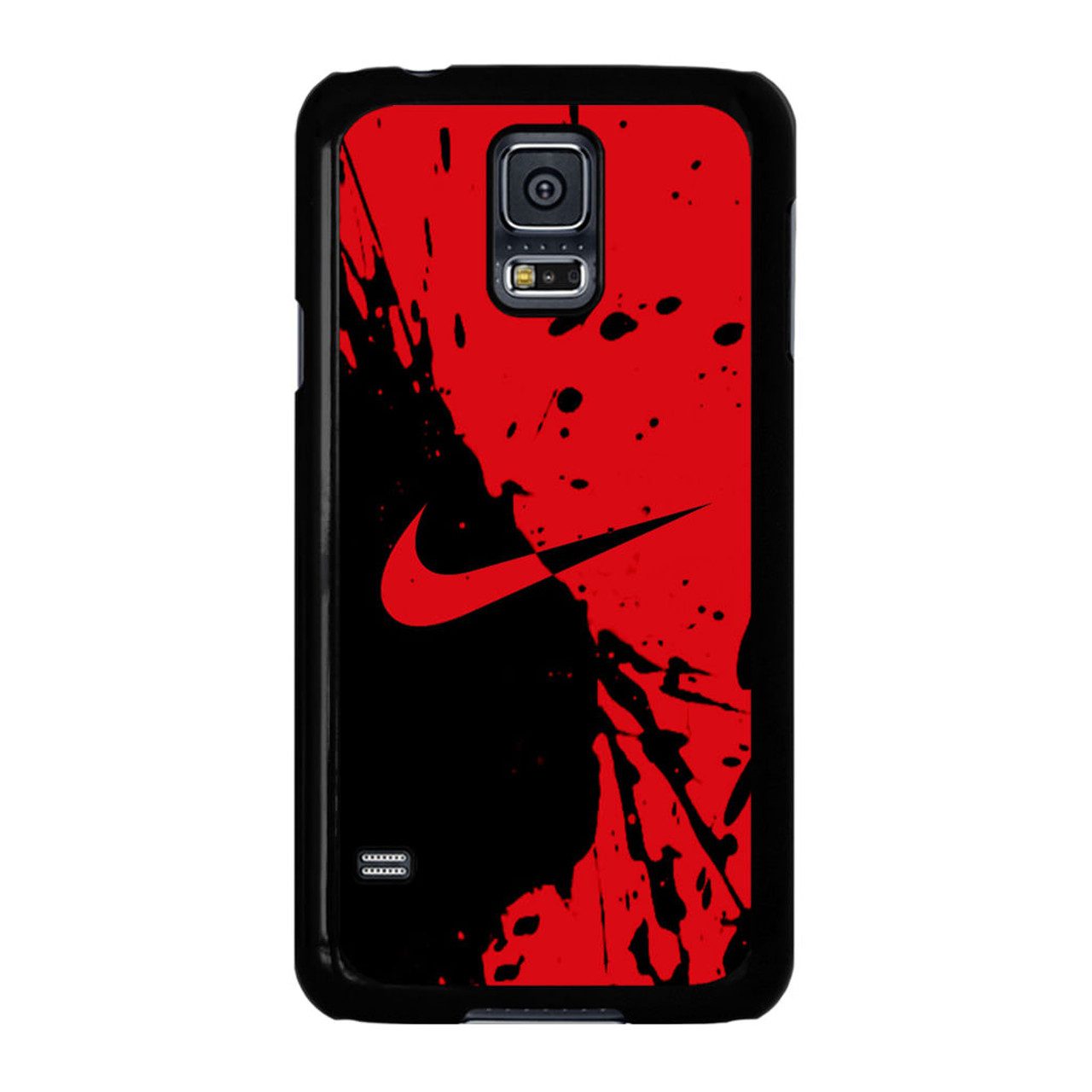 premium selection 11ed8 80a3c Nike Red and Black Samsung Galaxy S5 Case