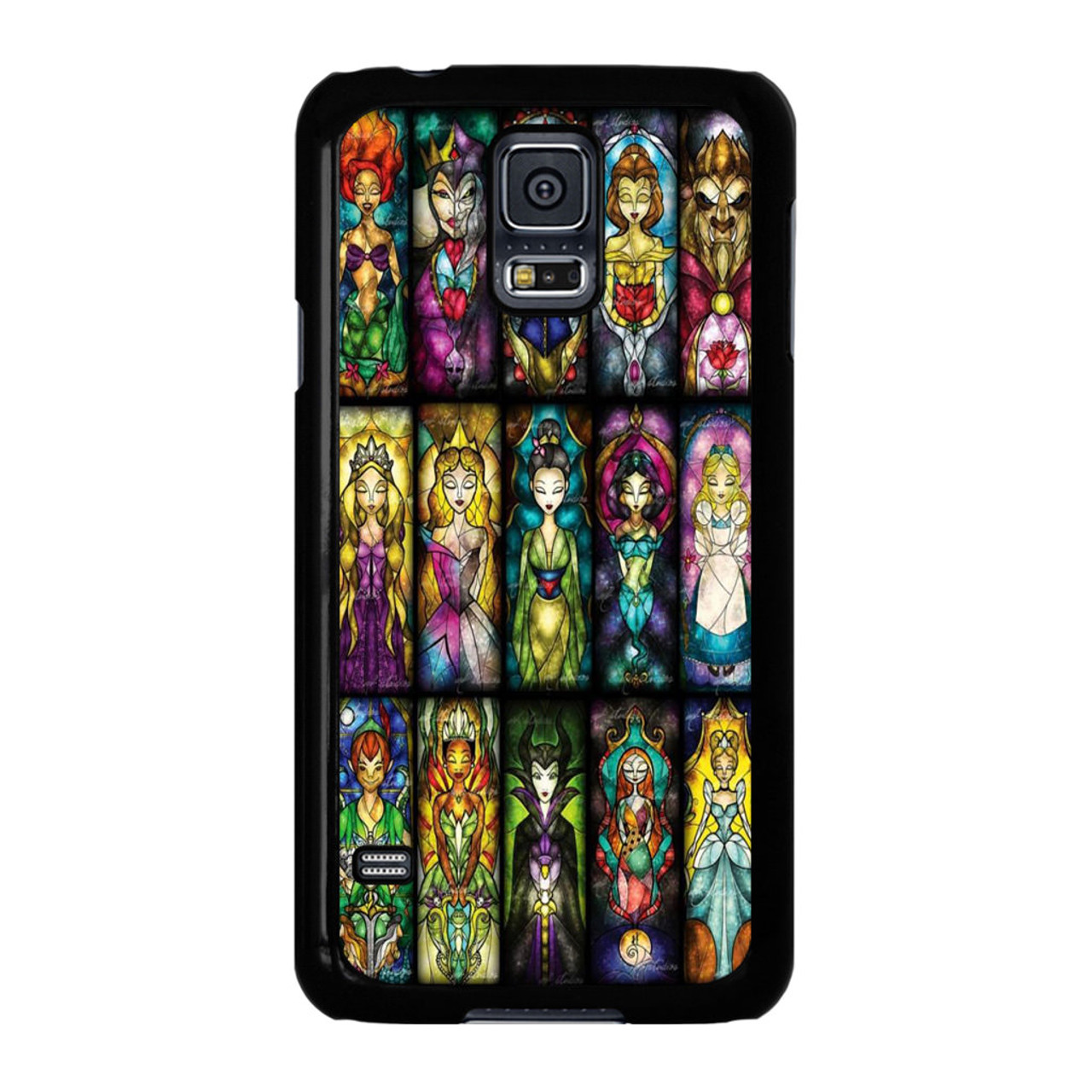 separation shoes 284a2 78a26 All Princess disney stained glass Samsung Galaxy S5 Case
