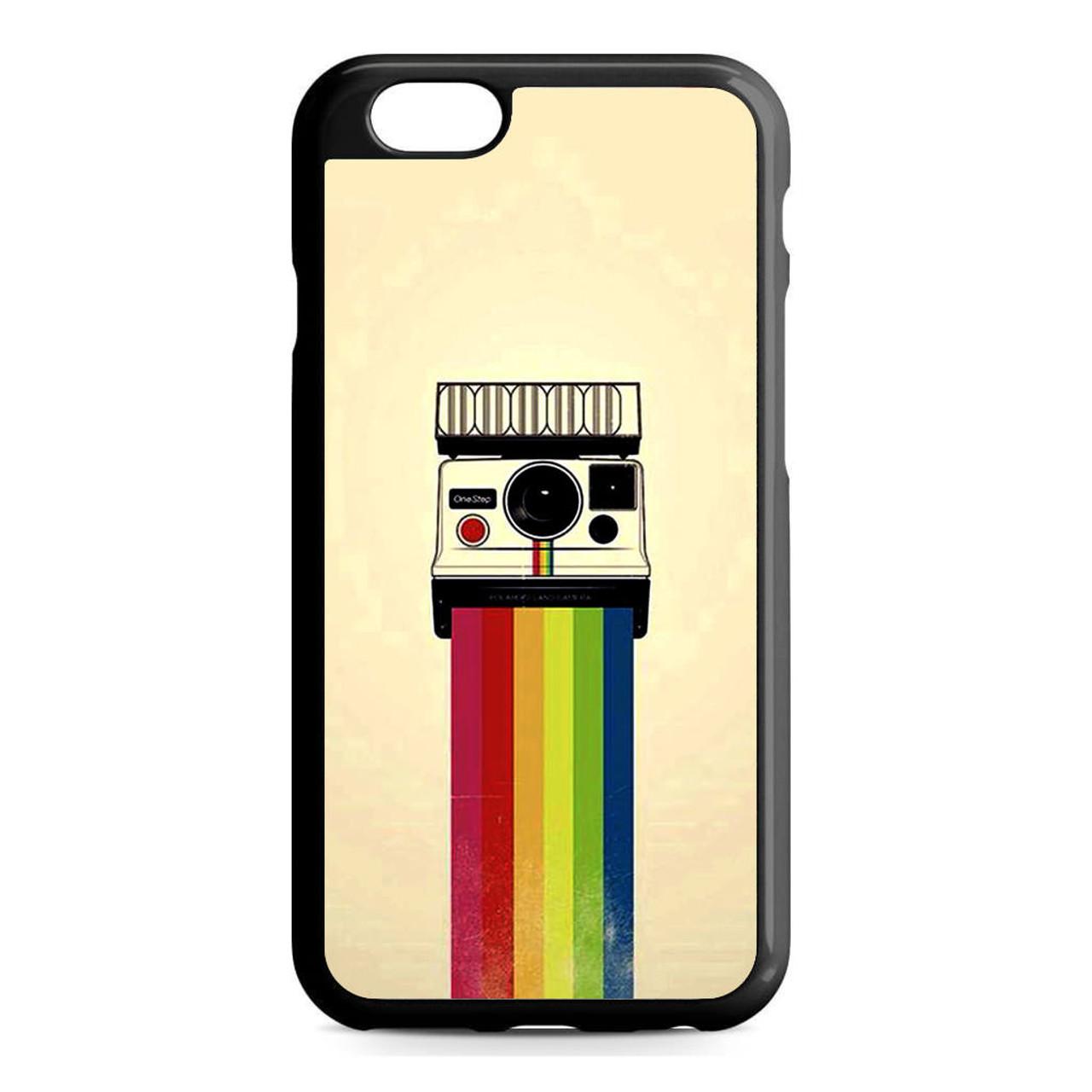 online store 54404 3e144 Polaroid Camera Colorful Rainbow iPhone 6/6S Case