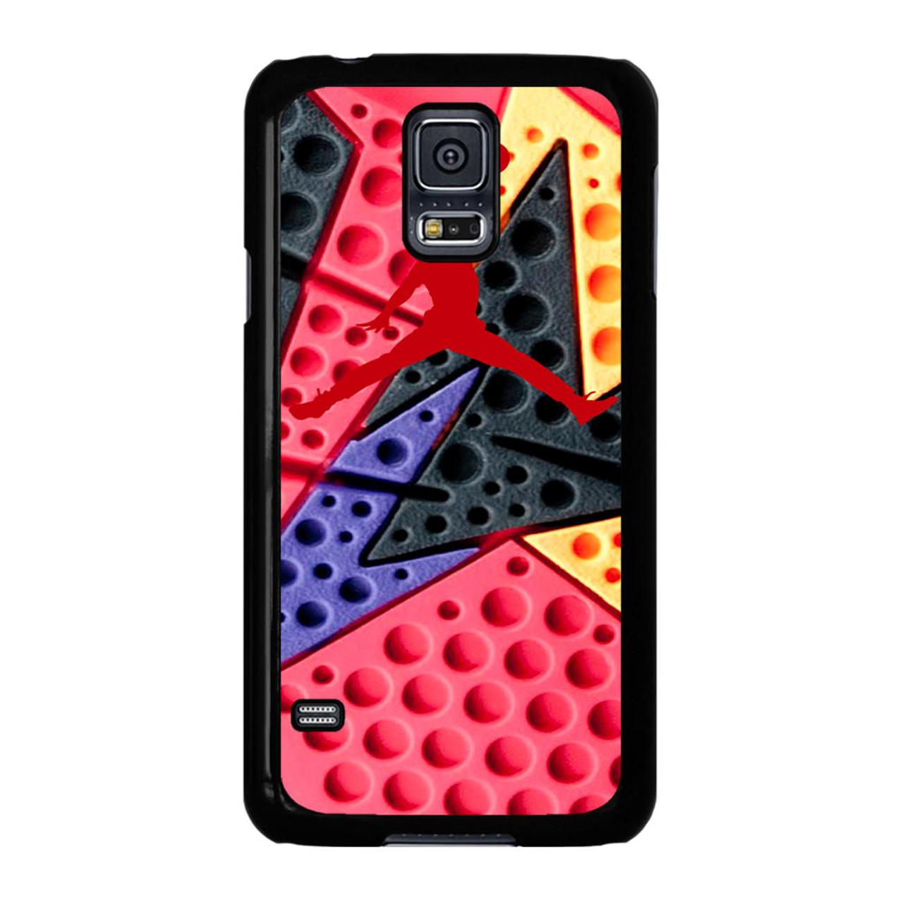finest selection 6aac4 505f4 Jordan Retro 7 Raptors Print Samsung Galaxy S5 Case