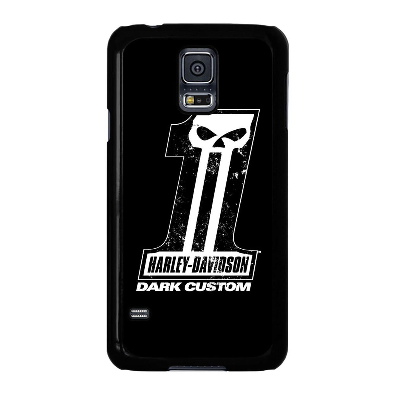 official photos 1597b b87a0 Harley Davidson Dark Custom Samsung Galaxy S5 Case