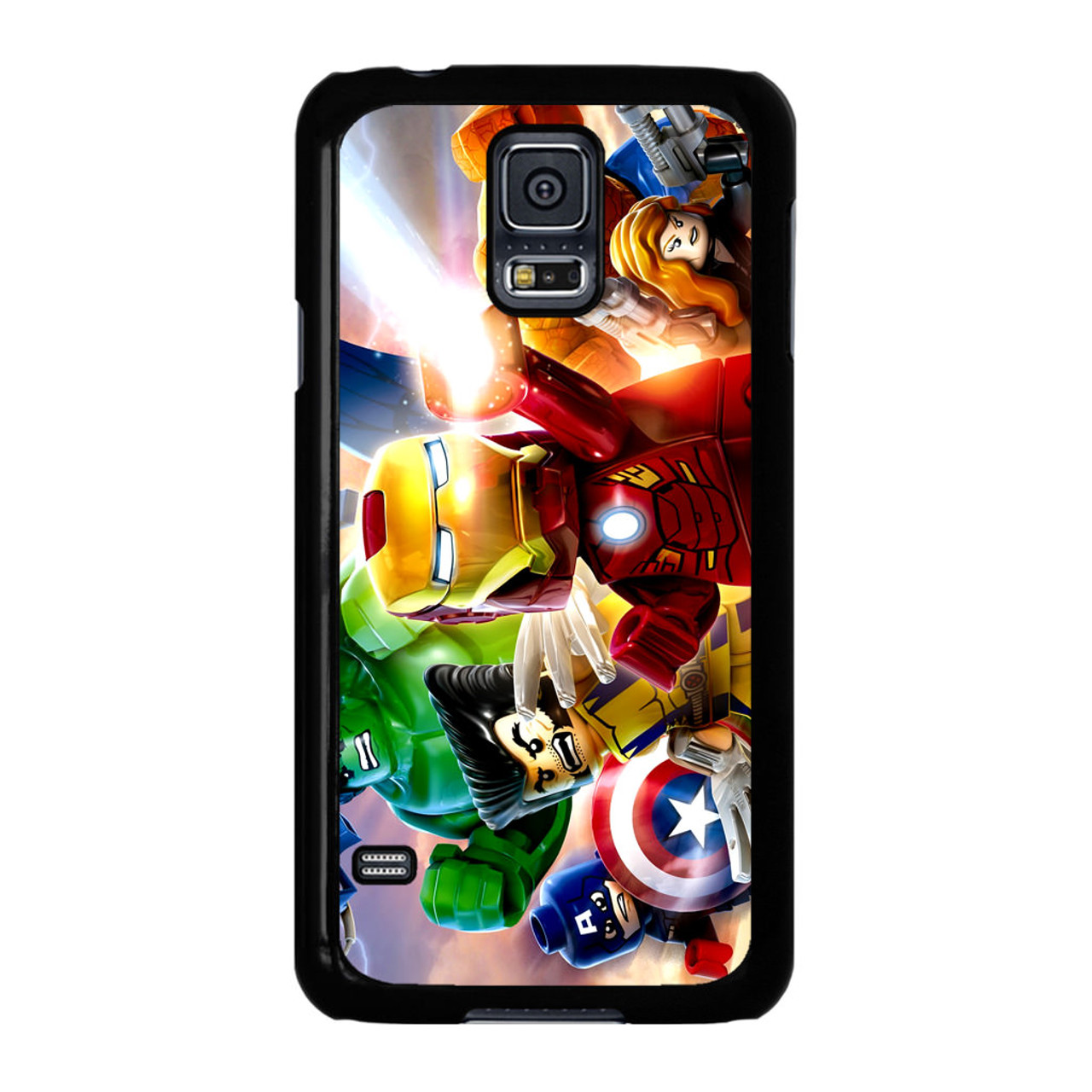 new concept 37279 9f296 Marvel Lego Character Samsung Galaxy S5 Case