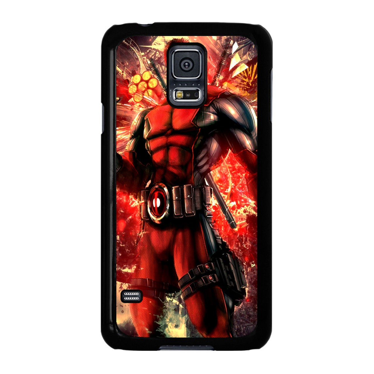 separation shoes f7a8f 92ed3 Marvel Heroes Deadpool Samsung Galaxy S5 Case - CASESHUNTER