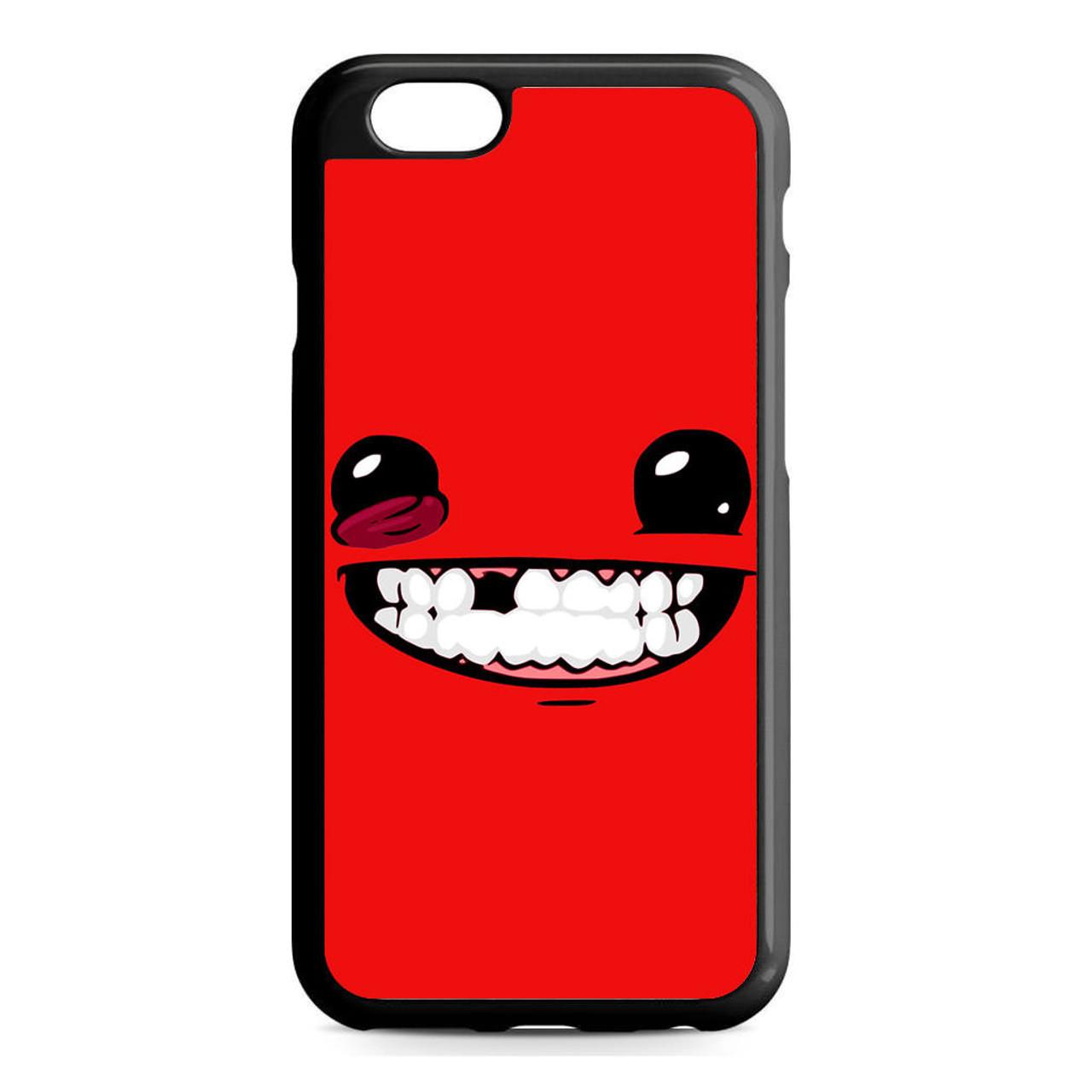 reputable site e492f 7abd3 Super Meat Boy iPhone 6/6S Case