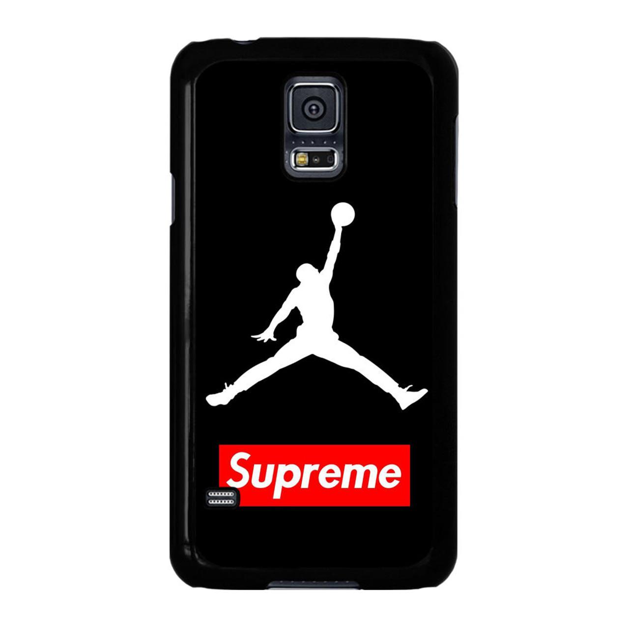 brand new c6b17 65b2d Supreme Air Jordan Samsung Galaxy S5 Case - CASESHUNTER