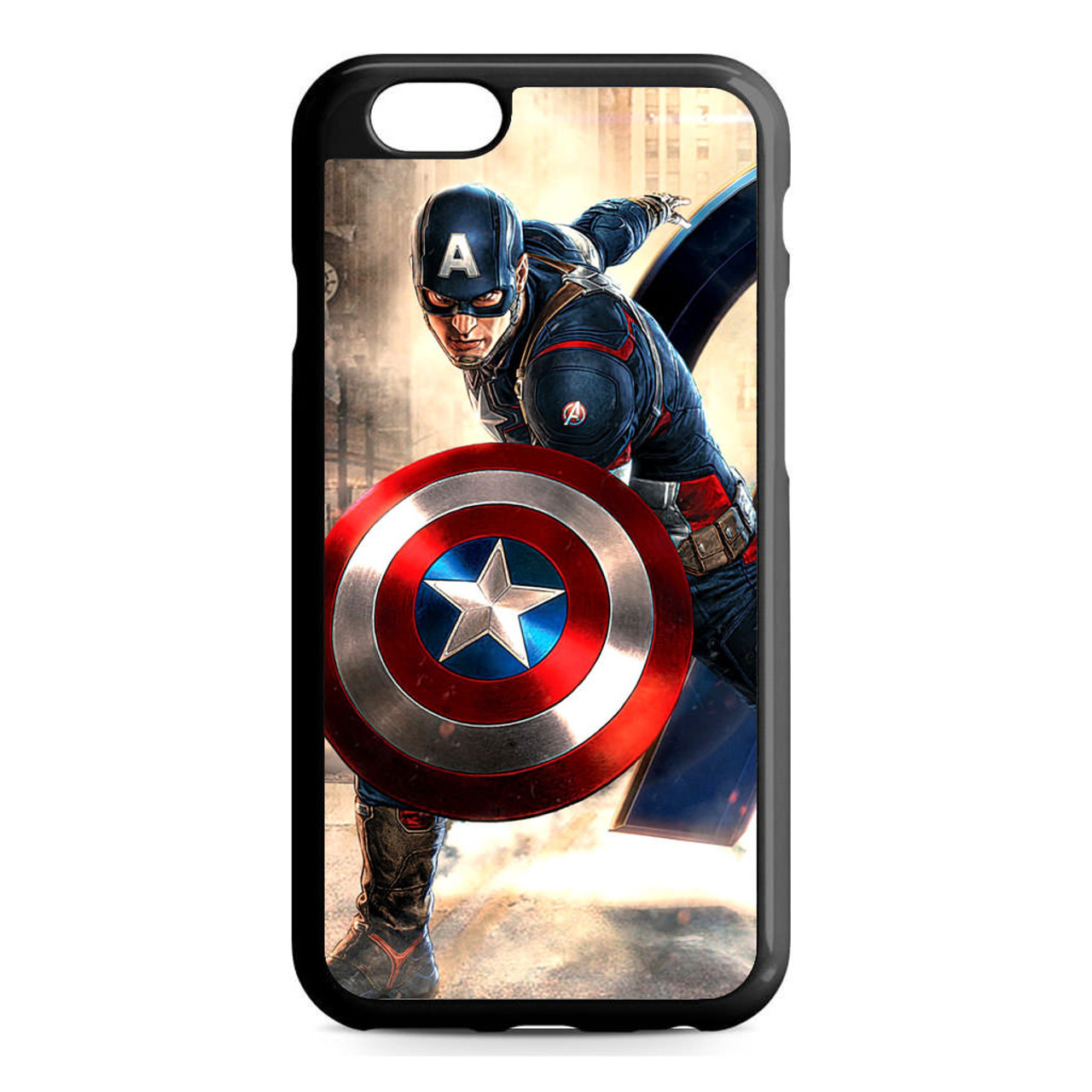 the best attitude bf3fc a8345 Captain America Avengers iPhone 6/6S Case