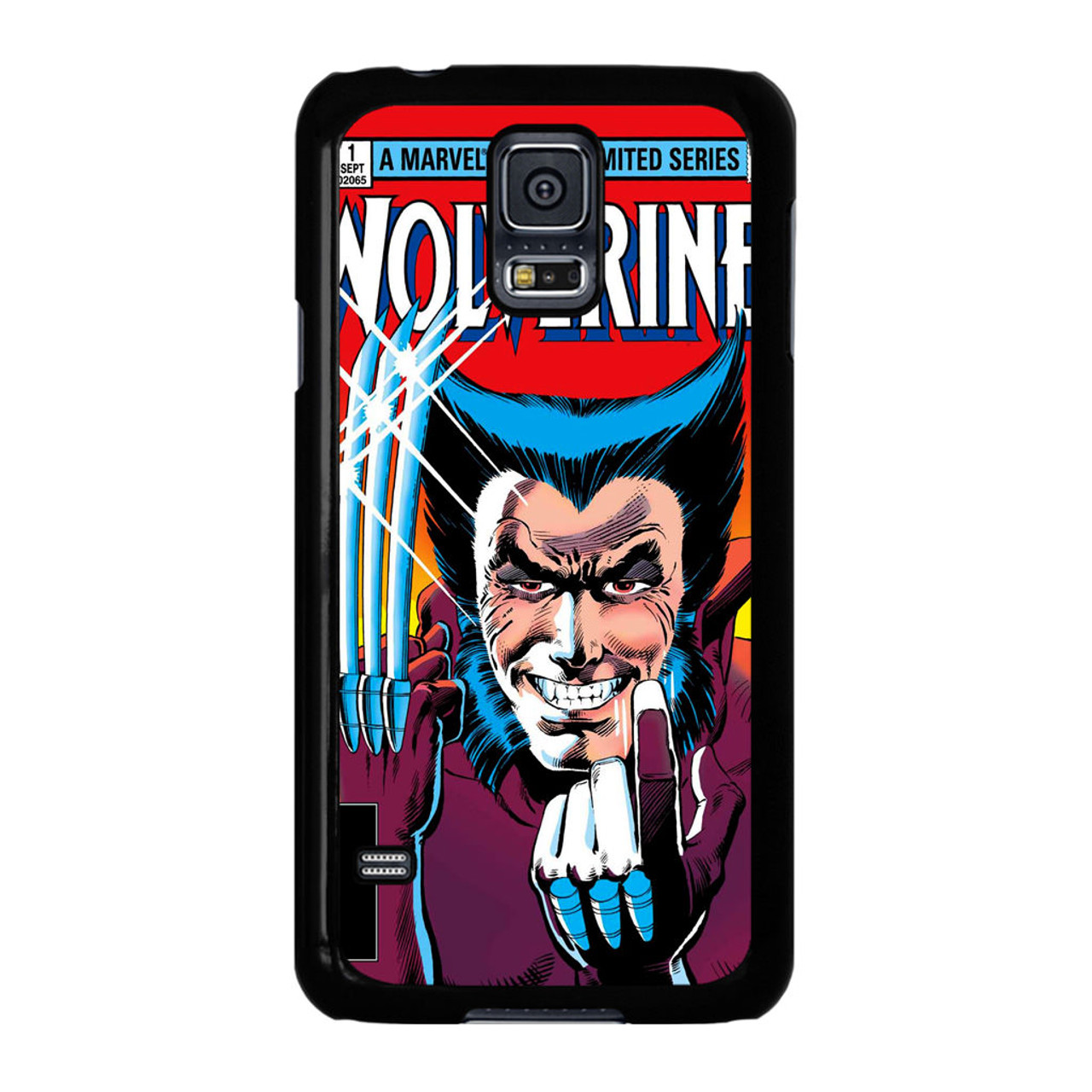 official photos 32b24 b0fbb Marvel Comics Cover Wolverine Samsung Galaxy S5 Case - CASESHUNTER
