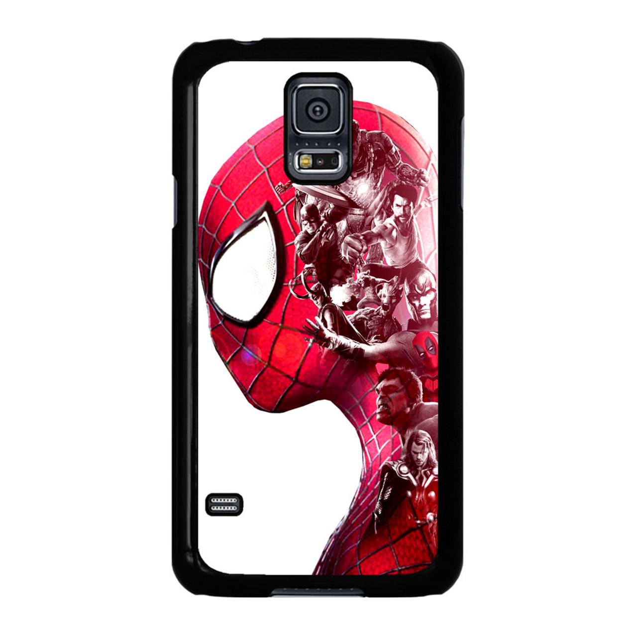 huge selection of c553c 886f5 Spiderman Superheroes Marvel Samsung Galaxy S5 Case