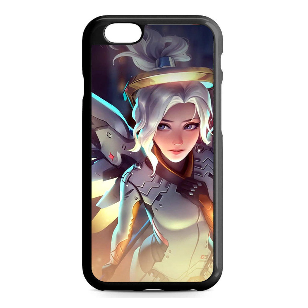 promo code dd086 8503b Mercy Overwatch Angel Healer iPhone 6/6S Case