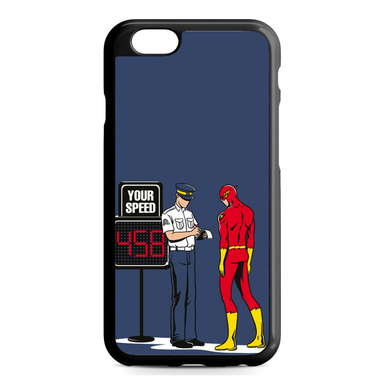 buy popular 9bc17 9b43a The Flash And The Cop iPhone 6/6S Case