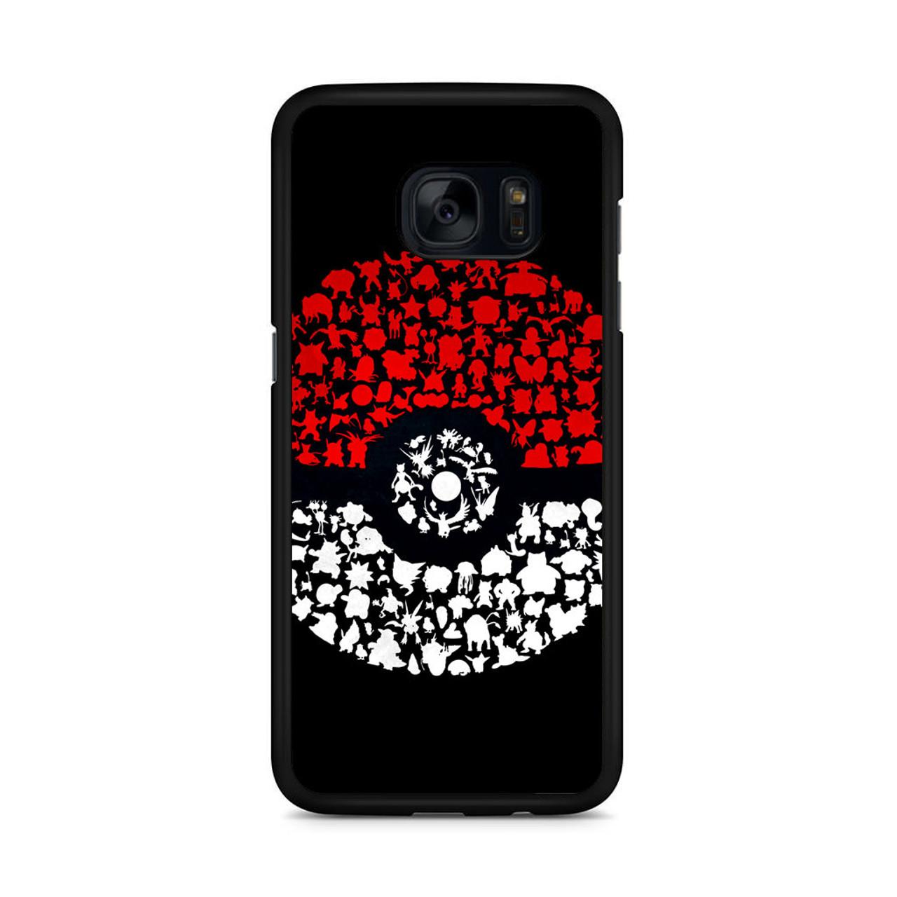 check out 76d85 6e3c3 Pokeball Pokemon Go Samsung Galaxy S7 Edge Case - CASESHUNTER