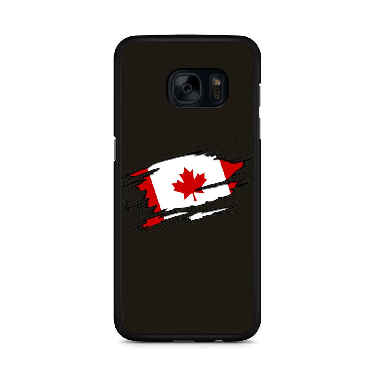 cheap for discount 266ad bc4da Canadian Flag Samsung Galaxy S7 Edge Case
