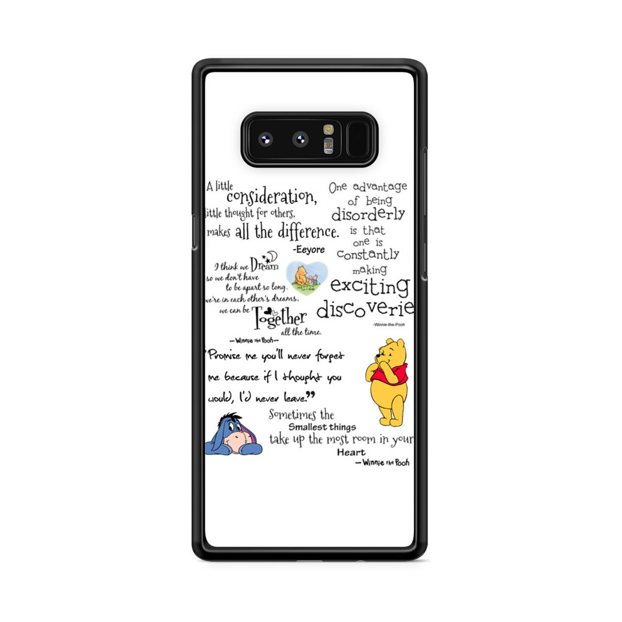 new concept af6e9 e18d7 Winnie The Pooh Samsung Galaxy Note 8 Case
