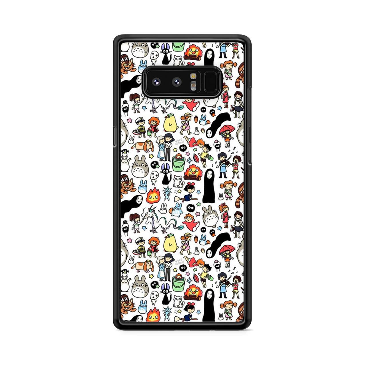 online store adef3 5f7f1 Kawaii Studio Ghibli Character Samsung Galaxy Note 8 Case
