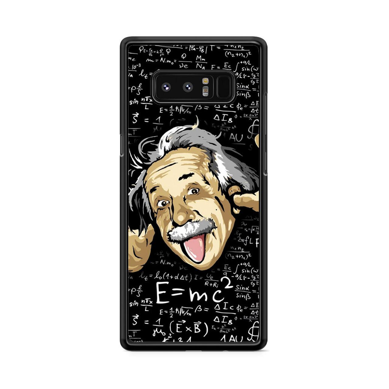 5d3b9df2181 Albert Einstein Formula Samsung Galaxy Note 8 Case - CASESHUNTER