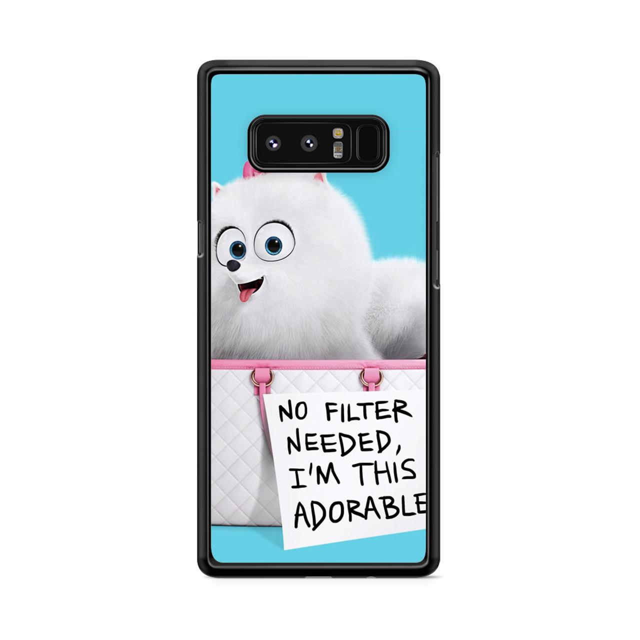 new concept ebb6a b730e Gidget The Secret Life Of Pets Samsung Galaxy Note 8 Case