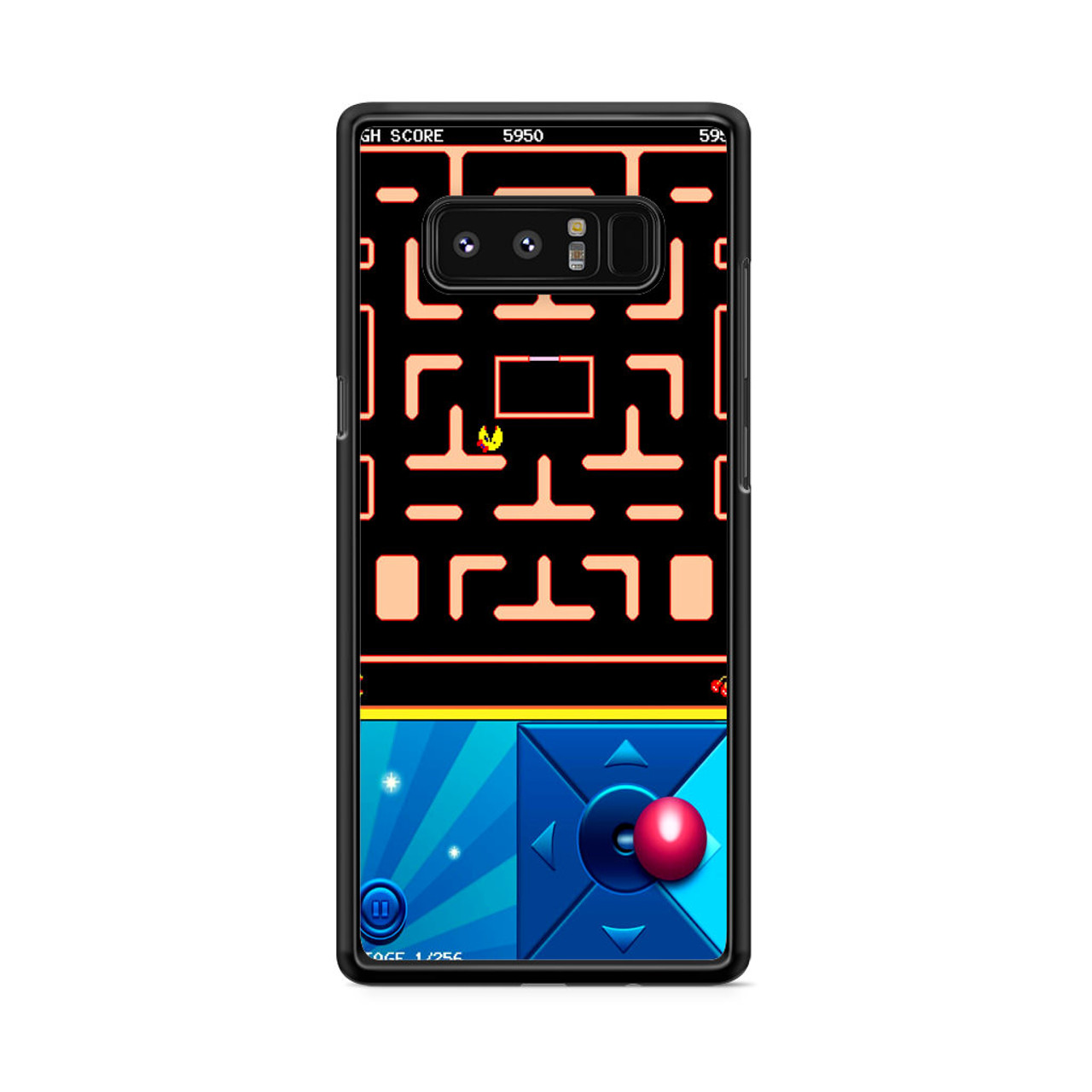 newest 9f8c9 09163 Pacman Fossil Samsung Galaxy Note 8 Case