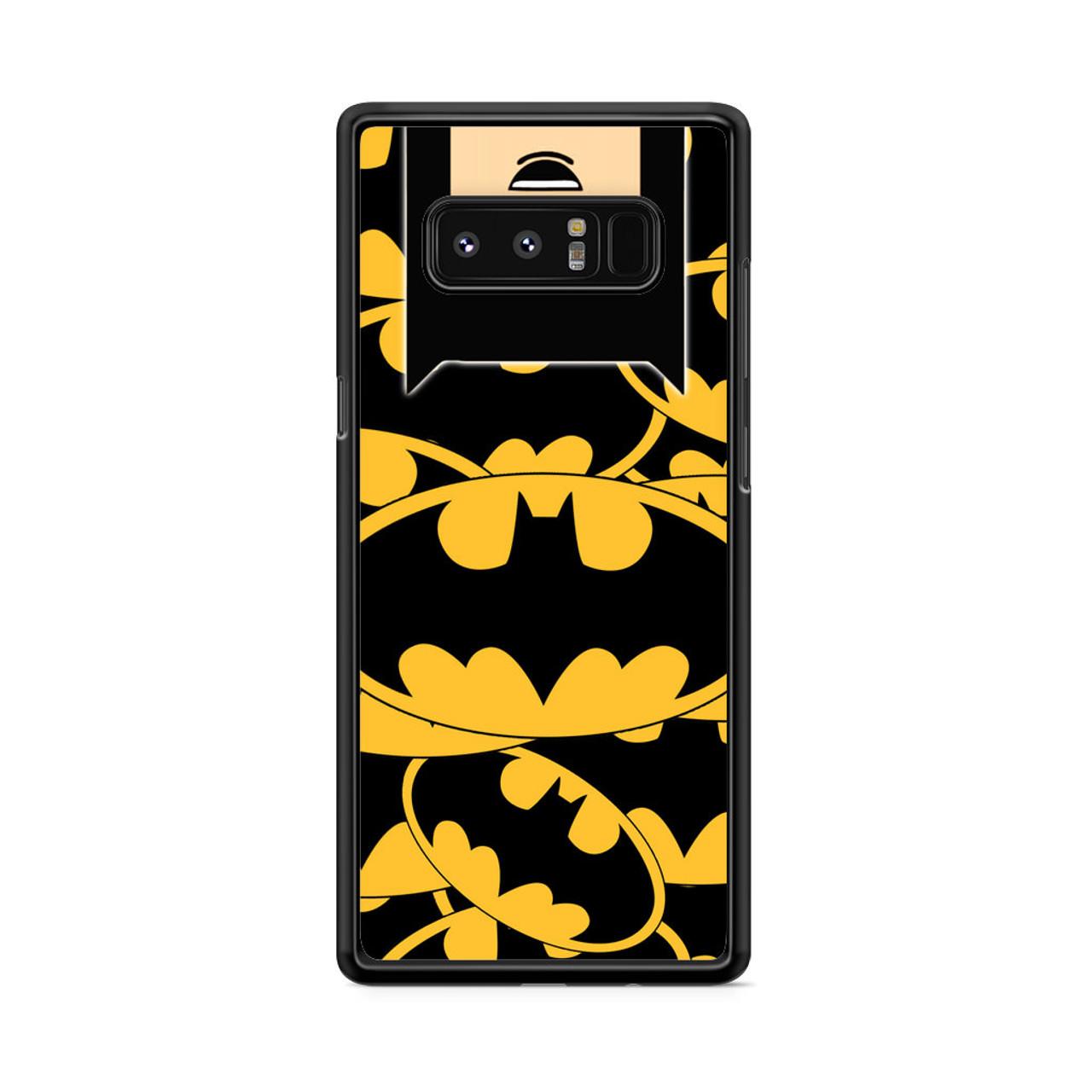 online retailer d6e34 df73f Batman Pattern Samsung Galaxy Note 8 Case