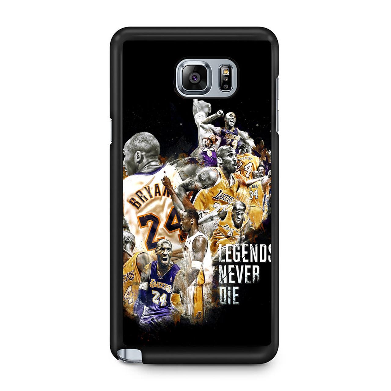 3840d9fa3db6 Kobe Bryant Legends Never Die Samsung Galaxy Note 5 Case - CASESHUNTER