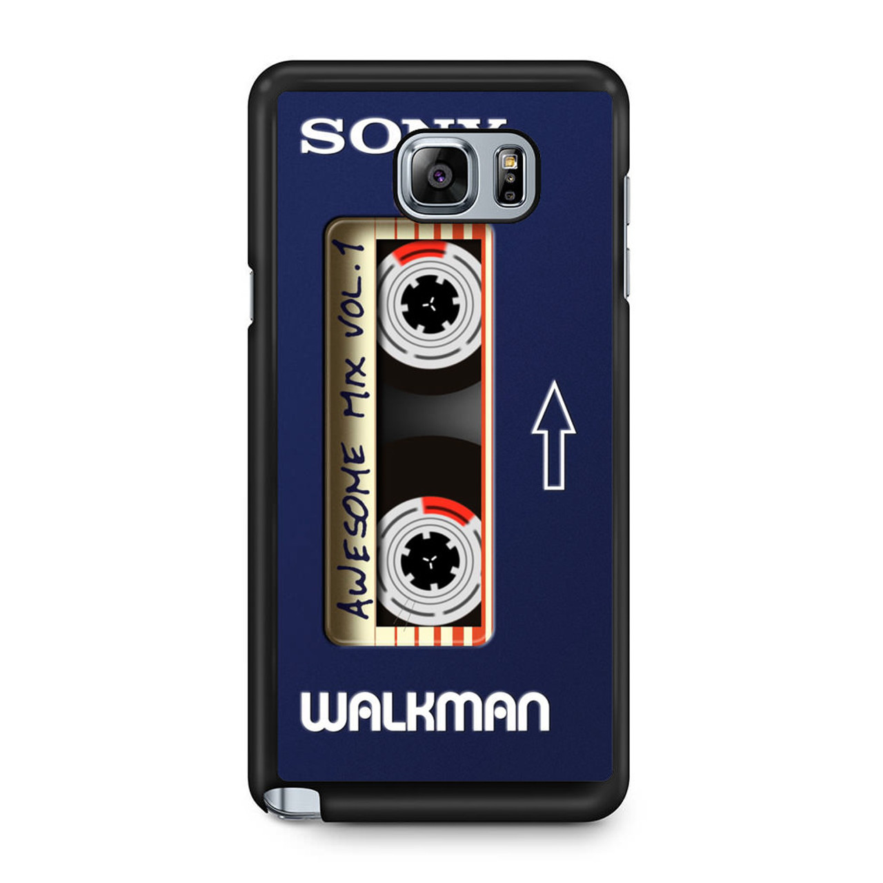 new product 19e36 e7c68 Awesome Mix Vol 1 Walkman Samsung Galaxy Note 5 Case