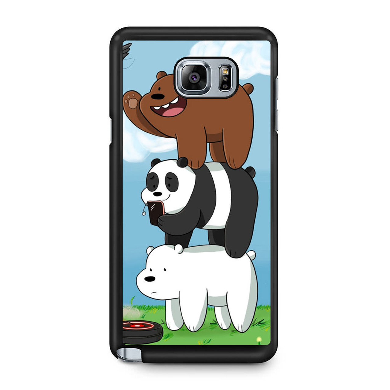 size 40 8c2e2 17a97 We Bare Bears Grizz Samsung Galaxy Note 5 Case