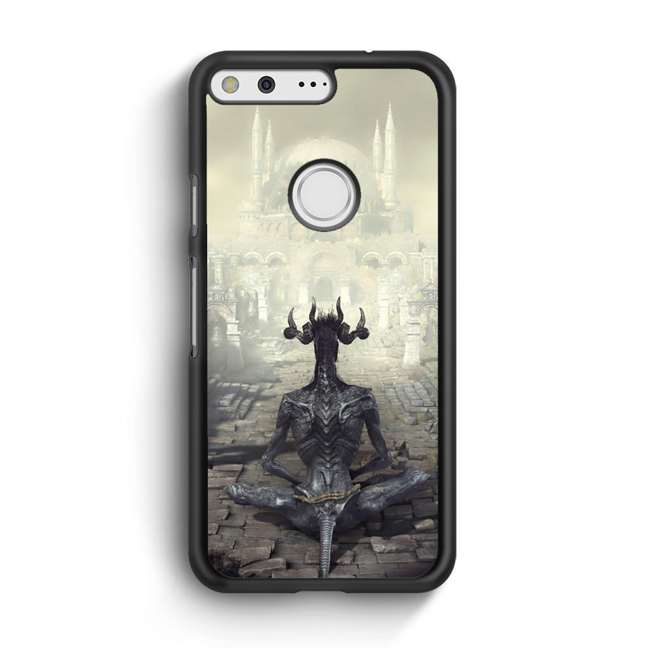new styles c2815 7b083 Dark Souls Demon Google Pixel XL Case