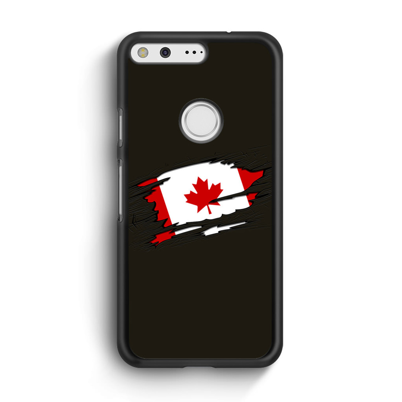 new product d2f5f 55dfd Canadian Flag Google Pixel XL Case