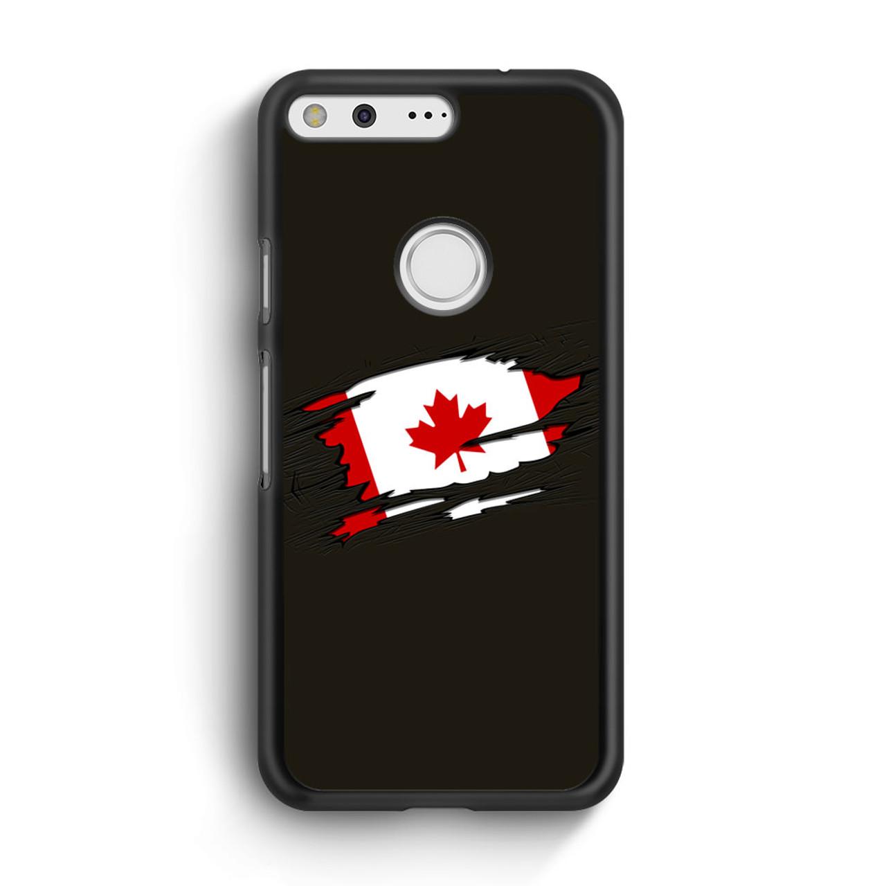 sale retailer 5632c 13fa8 Canadian Flag Google Pixel Case