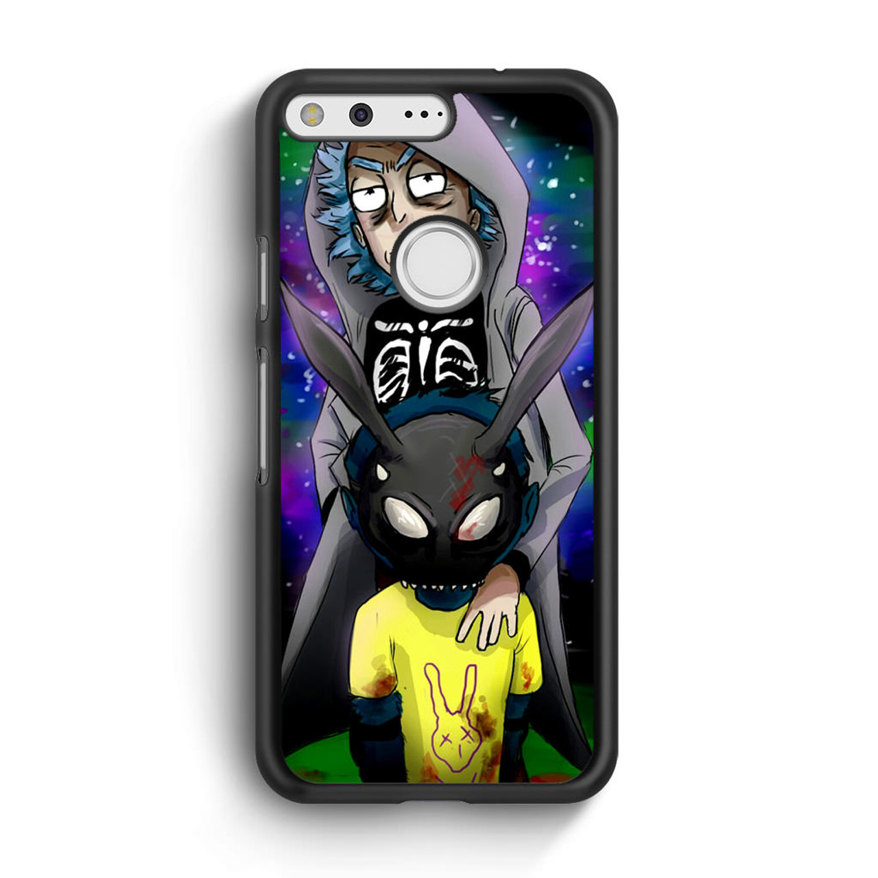 finest selection 1275f 1b73d Rick And Morty Donnie Darko Google Pixel Case