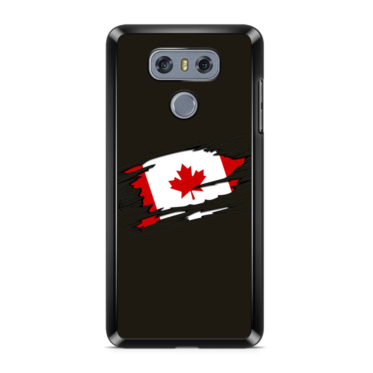 brand new 0facd 4bee2 Canadian Flag LG G6 Case