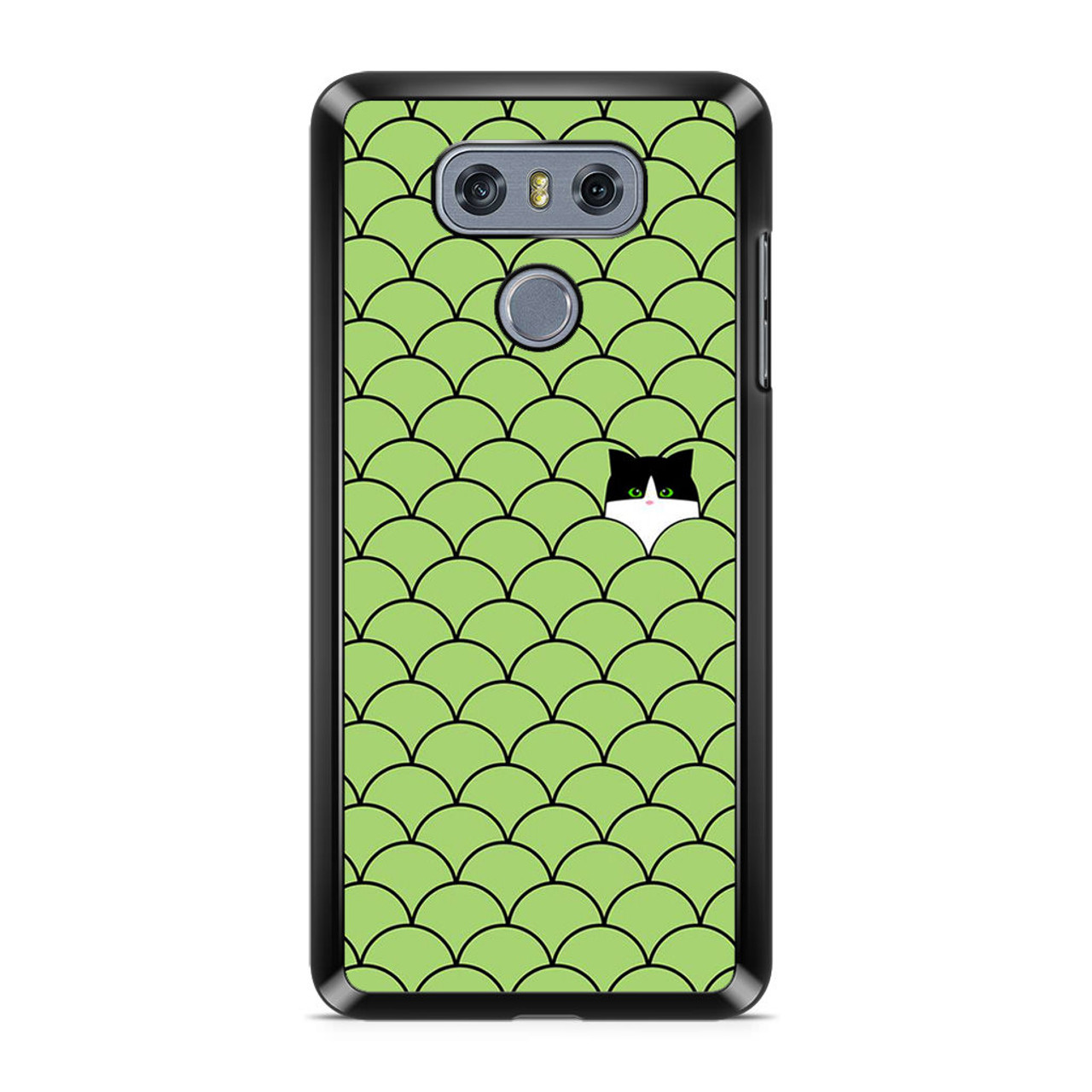 newest 650ae 5eca3 Cat Circles LG G6 Case