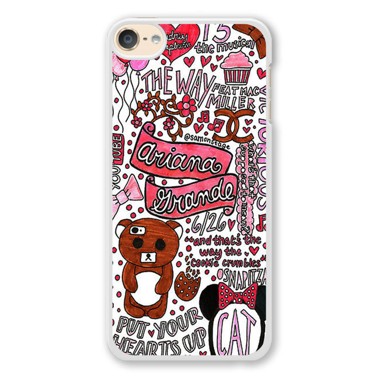 Ariana Grande Quotes iPod Touch 6 Case
